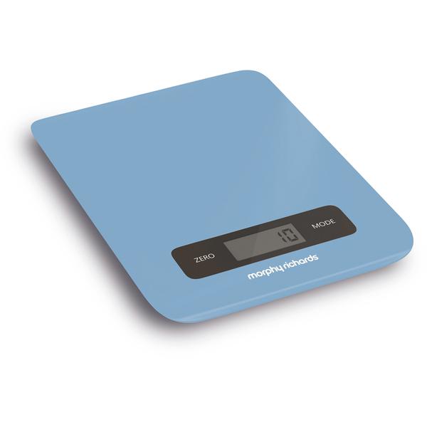 Blue Kitchen Scales: Morphy Richards 974903 Electronic Kitchen Scales