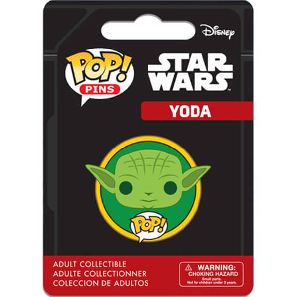 Star Wars Yoda Pop! Pin
