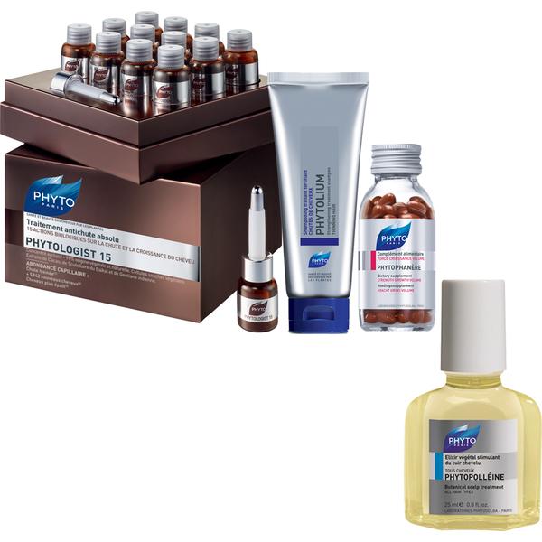 Paquet Phyto Phytologist 15 Anti-perte Hair (Valeur 310 £)