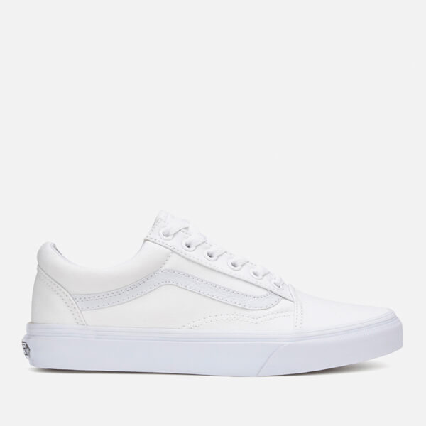 74636f0c083ef6 Vans Old Skool Trainers - True White  Image 1
