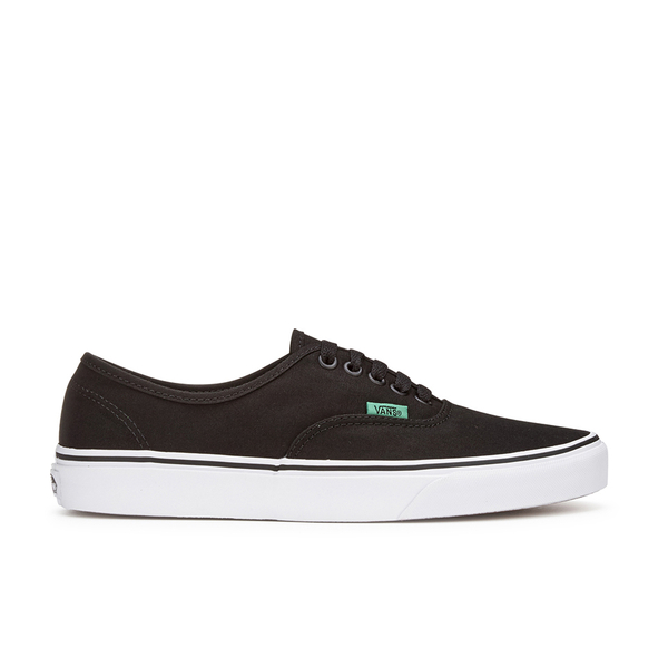 Vans Men's Authentic Sport Pop Trainers - Black/Kelly Green