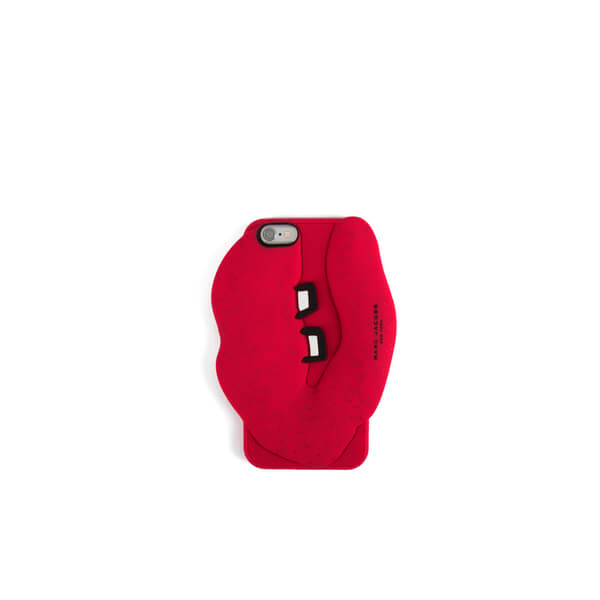 Marc Jacobs Women's Silicone Lips iPhone 6/6S Case - Red