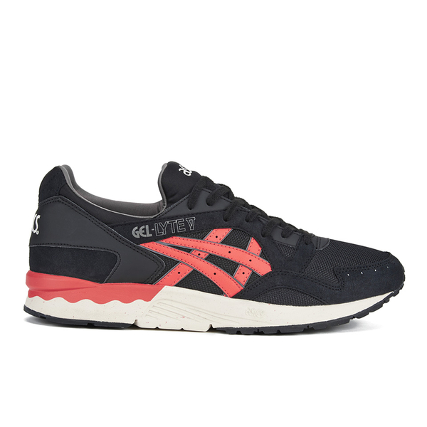 Asics Men's Gel-Lyte V 'City Pack' Trainers - Black/Chilli