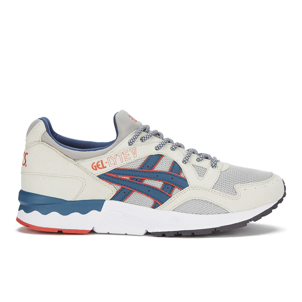 Asics Lifestyle Men's Gel-Lyte V Summer Blues Trainers - Light Grey/Legion Blue
