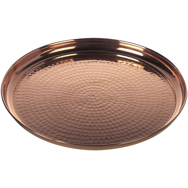 Parlane Hammered Tray - Copper