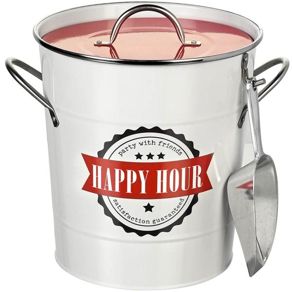 Seau à glaçon en Métal Happy Hour Parlane
