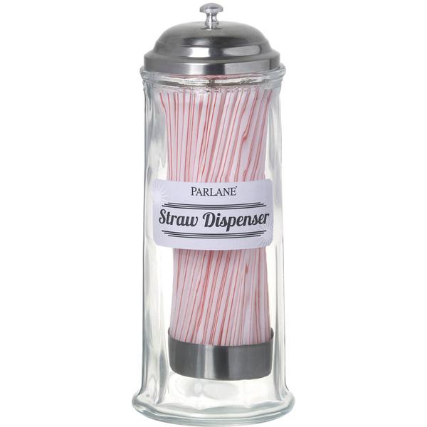 Parlane Retro Straw Dispenser
