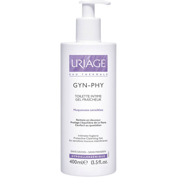 Gel Limpiador Higiene Íntima Uriage Gyn-Phy (400ml)