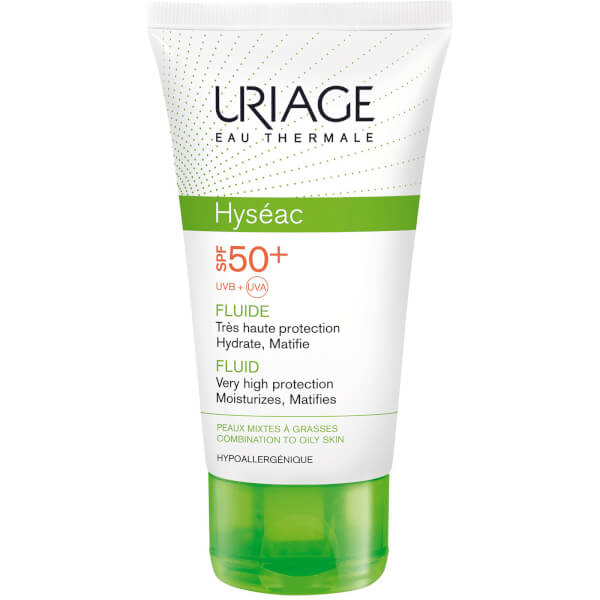 Uriage Hyséac High Protection Emulsion for Combination to Oily Skin SPF50+ (50 ml)