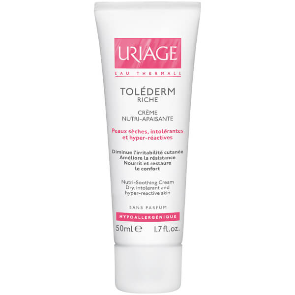 Uriage Toléderm Nutri-Soothing Cream for Sensitive/Intollerant Very Dry Skin (50 ml)