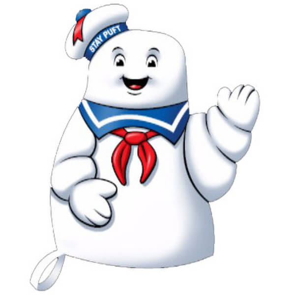 Ghostbusters Stay Puft Marshmallow Man Oven Glove