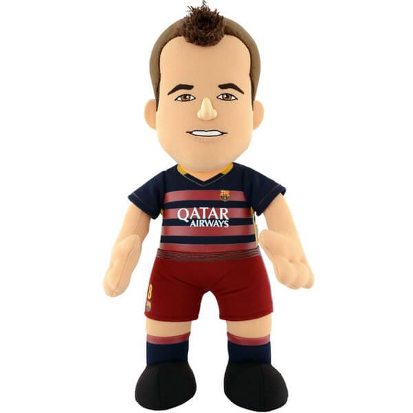 FC Barcelona Andres Iniesta 10 Inch Bleacher Creature