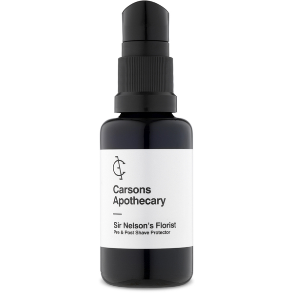 Carsons Apothecary Sir Nelson's Florist Shaving Oil