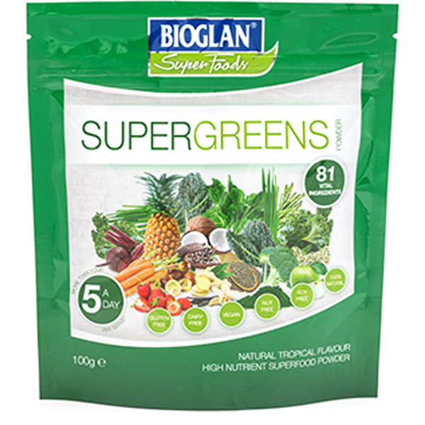 Bioglan Superfoods Supergreens Original 81 - 100g