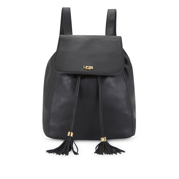 UGG Women's Rae Leather Backpack - Black - Free UK Delivery over £50