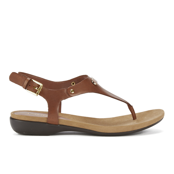 Lauren Ralph Lauren Women's Kally Leather Sandals - Polo Tan
