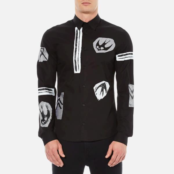 McQ Alexander McQueen Men's Googe Shirt - Black