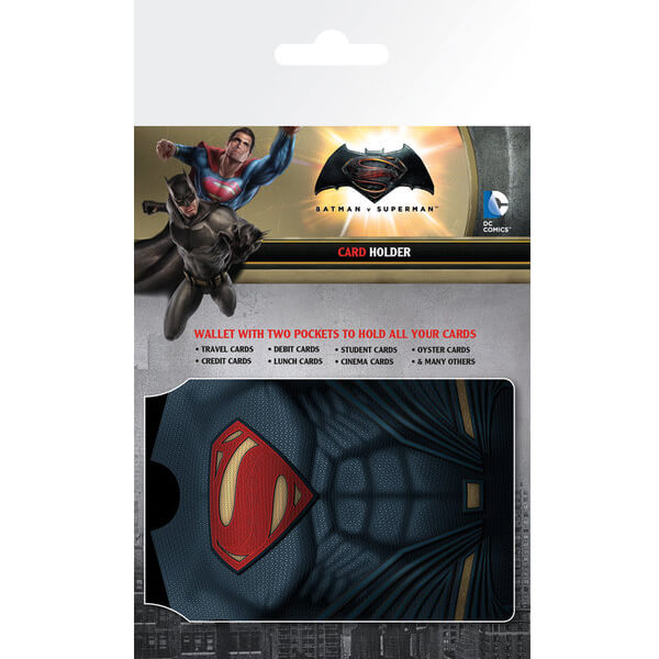 DC Comics Batman v Superman Dawn of Justice Outfits Card Holder