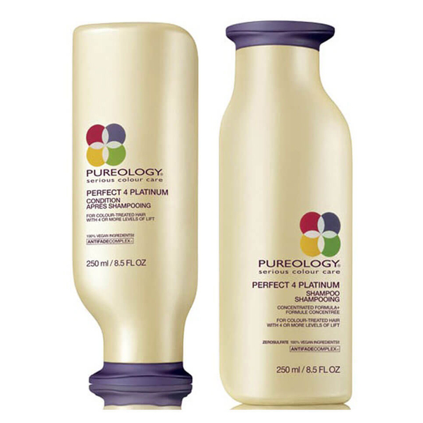 Pureology Perfect 4 Platinum Shampoo and Conditioner (250ml)