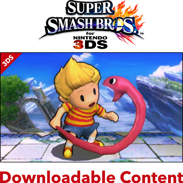 Super Smash Bros. for Nintendo 3DS - Lucas DLC
