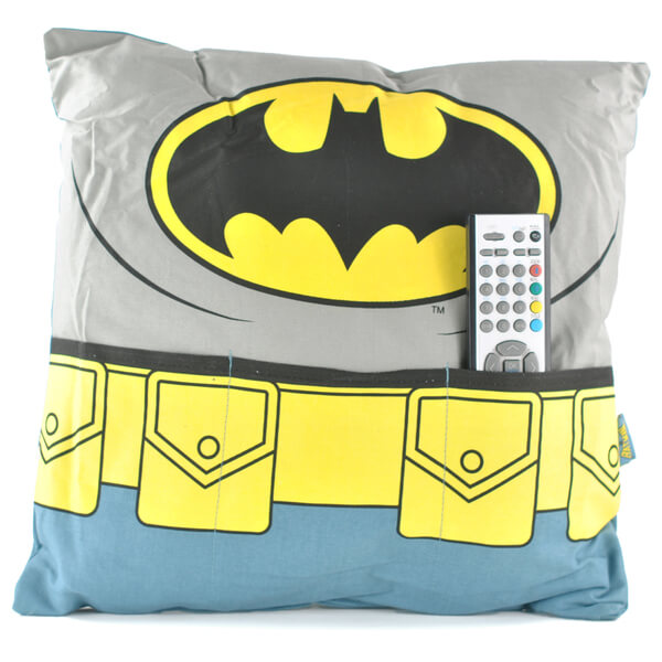DC Comics Batman Cushion with Pockets