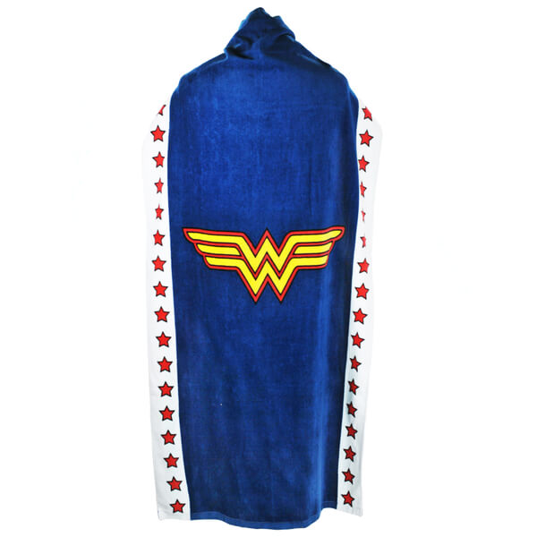 DC Comics Wonder Woman Logo Cape Towel