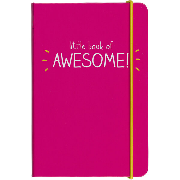 Happy Jackson Little Book of Awesome Pink Notebook