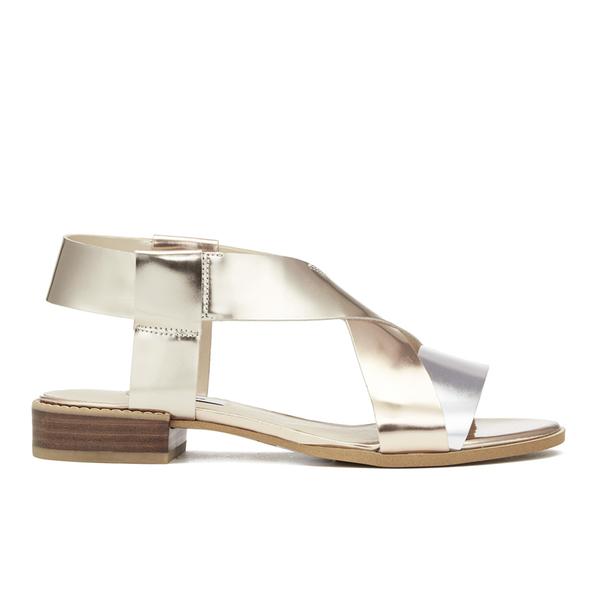 d9c07245265e6b Clarks Women s Bliss Meadow Gladiator Sandals - Metallic Combi  Image 1