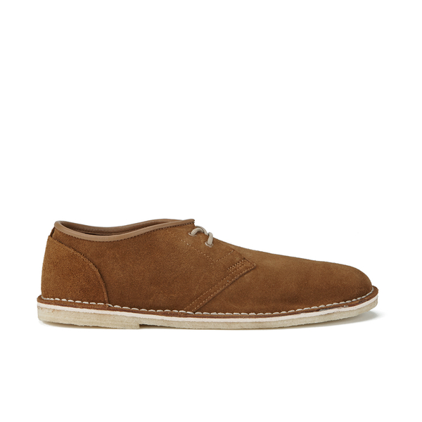 Clarks Originals Men's Jink Suede Shoes - Cola: Image 1