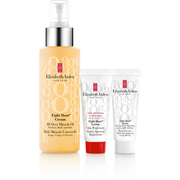 Elizabeth Arden Eight Hour Cream All-Over Miracle Oil Set (Worth £43.80)