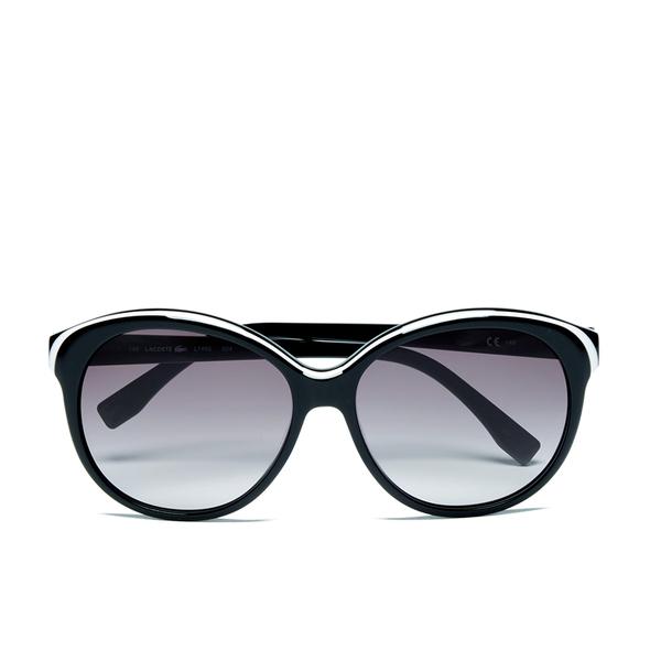 Lacoste Women's Round Sunglasses - White/Black