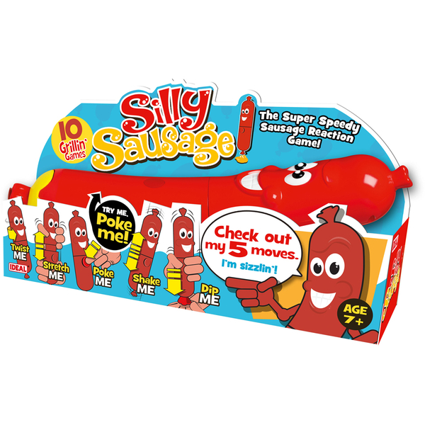 Toys And Games Com : John adams silly sausage game toys zavvi
