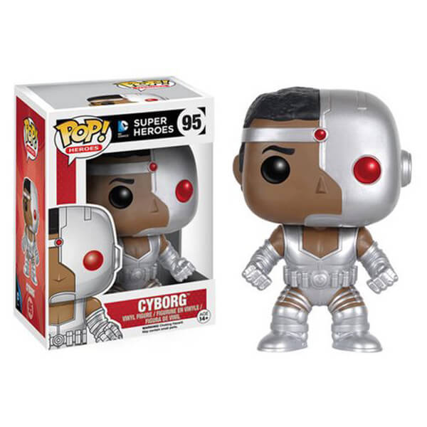 DC Comics Justice League Cyborg Pop! Vinyl Figure