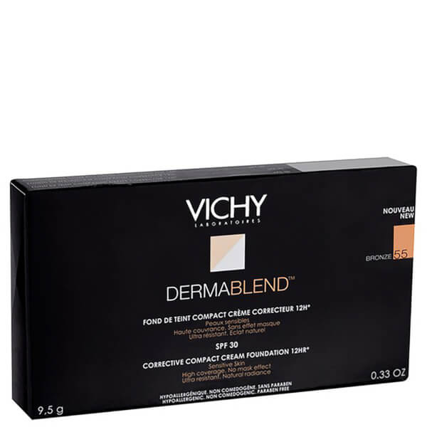 Vichy Dermablend Corrective Compact Cream Foundation (10g) (Ulike nyanser)