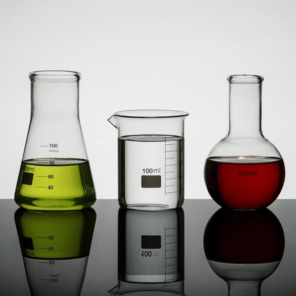 Lot de Verres Mini Flasques de Laboratoire (100ml)