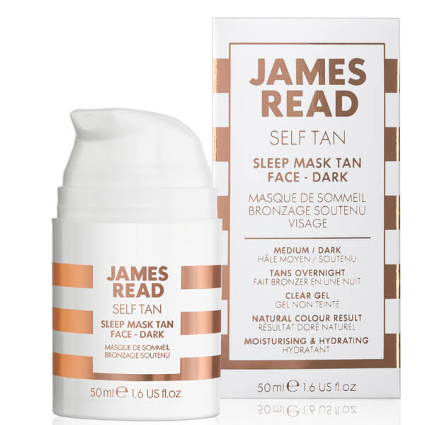 James Read Sleep Mask Tan Go Darker Face (50ml)
