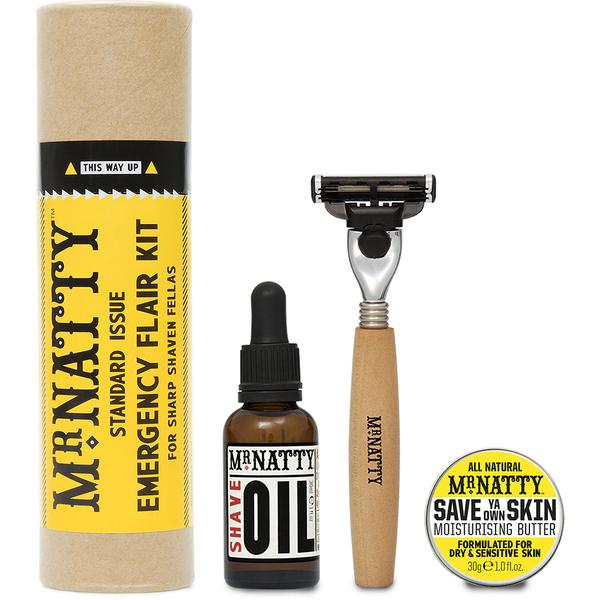 Mr Natty Emergency Flair Shave Kit