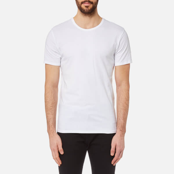 Calvin Klein Men's 2 Pack Crew Neck T-Shirt - White