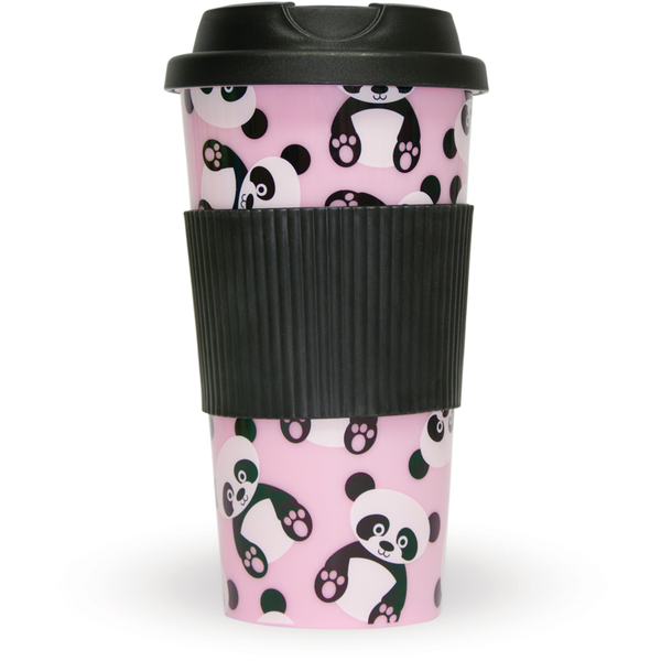 panda travel mug iwoot. Black Bedroom Furniture Sets. Home Design Ideas
