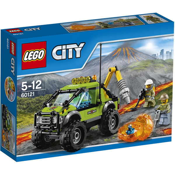 LEGO City: Le camion d'exploration du volcan (60121)