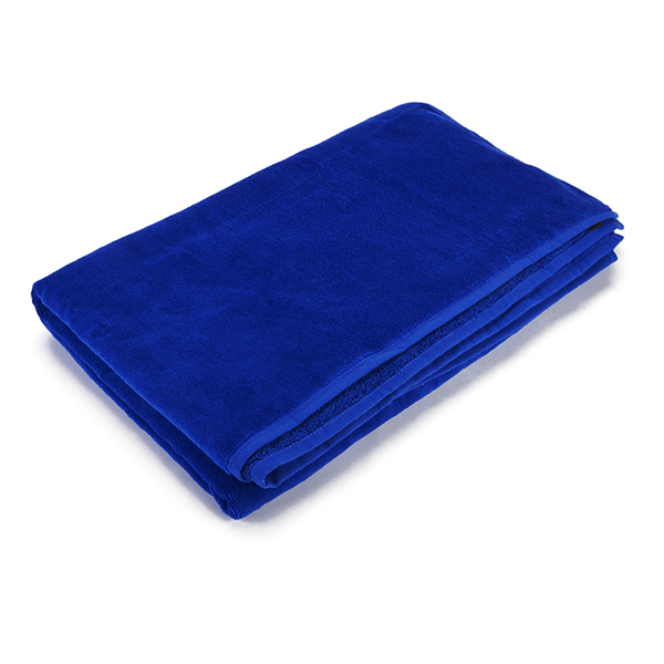 Hugo BOSS Beach Towel - Carved Cobalt