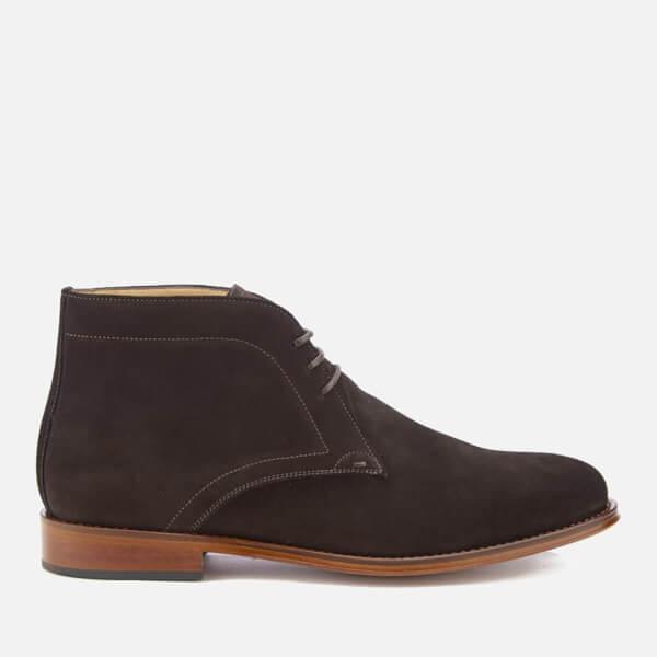 PS by Paul Smith Men's Morgan Suede Desert Boots - Dark Brown