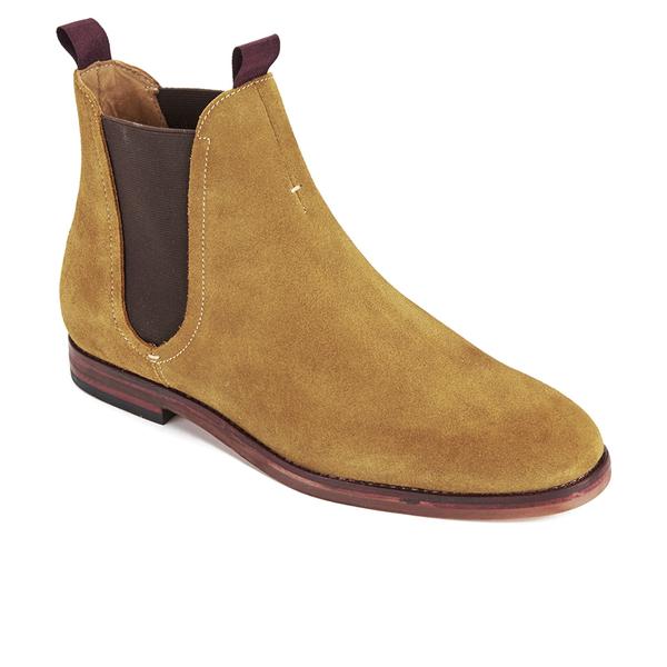 Hudson London Men's Tamper Suede Chelsea Boots - Sand: Image 2