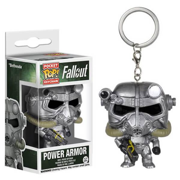 Porte-Clés Pocket Pop! Fallout Power Armor