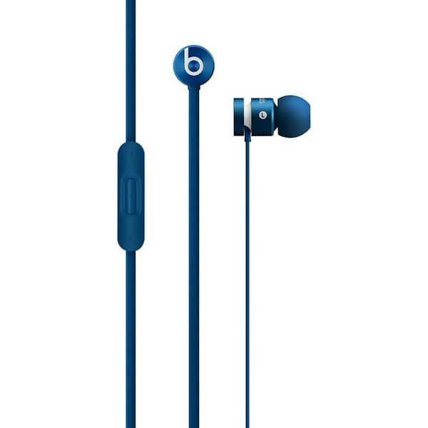 beats by dr dre urbeats in ear headphones blue. Black Bedroom Furniture Sets. Home Design Ideas