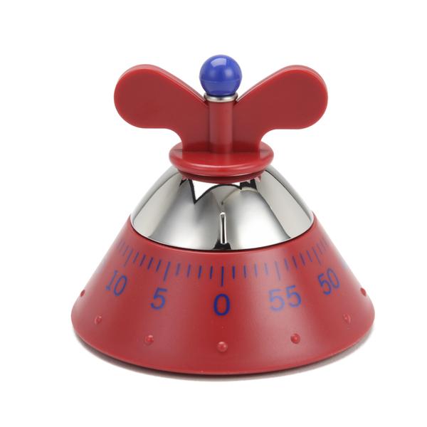 Alessi Kitchen Timer - Red