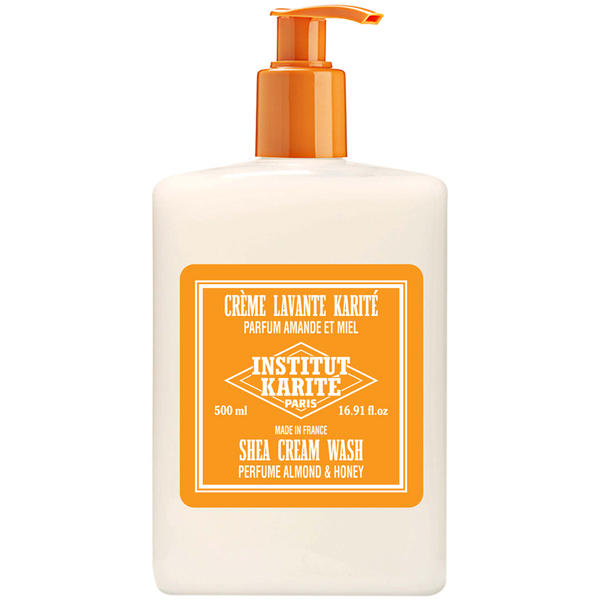 Institut Karité Paris Shea Washing Cream - Almond and Honey 500ml