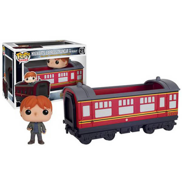 Harry Potter Hogwarts Express Vehicle with Ron Weasley Pop! Vinyl Figure