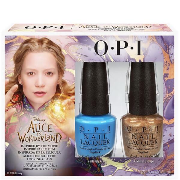 Colección de Esmaltes de Uñas Alice In Wonderlandde OPI- AlicePack Dúo 2 x 15 ml