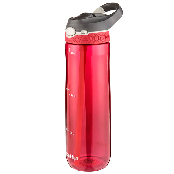 Contigo Ashland Water Bottle 720ml Red Iwoot